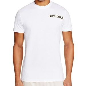 Blood Brother City Chaos Graphic Crewneck T Shirt